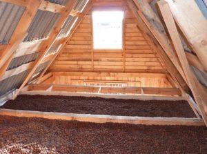 керамзит для утеплення даху