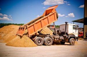 Продажа овражного песка с доставкой